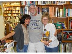 Key West Island Books - Book Signing March 12th Celine, Mike and Dana