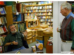 Key West Island Books Book Signing Jan 2012 Stairway to the Bottom