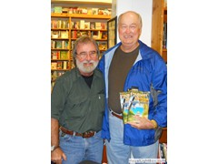 Key West Island Books Book Signing Jan 2012 Stairway to the Bottom John Parks
