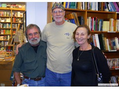 Key West Island Books Book Signing Jan 2012 Stairway to the Bottom Editor Nadja
