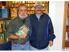 Key West Island Books Book Signing Jan 2012 Stairway to the Bottom Steve