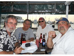 Michael Haskins Friends Julioi, Rich and Bob