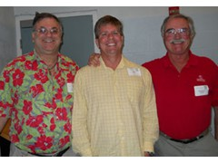 Michael Haskins Friends Neil, Jim and Jerry